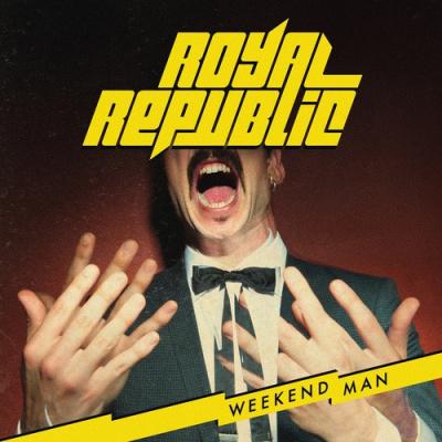 Royal Republic en concert au Cabaret Sauvage de Paris en décembre 2017