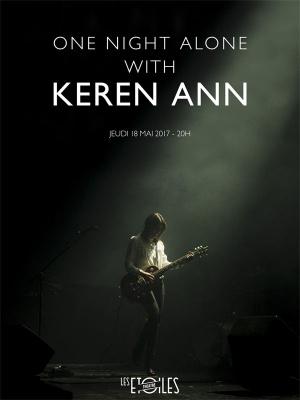Keren Ann en concert intimiste aux Etoiles à Paris en mai 2017