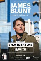 James Blunt en concert au Zénith de Paris en novembre 2017
