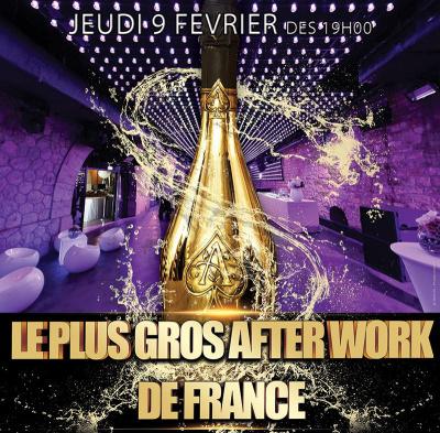 Le Plus Gros Afterwork de France de retour au Faust