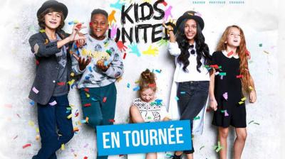 Kids United en concert à l'Arena Bercy de Paris en décembre 2017