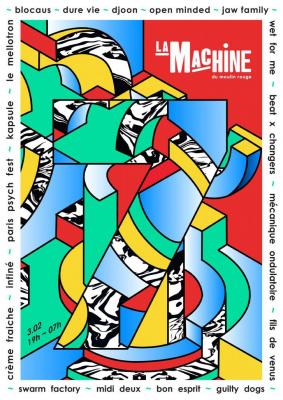 La Machine fête ses 7 ans