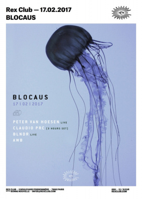 Blocaus au Rex Club avec Peter Van Hoesen