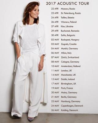 Natalie Imbruglia en concert au Trianon de Paris en mai 2017