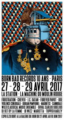 Born Bad Records fête ses 10 ans à Paris