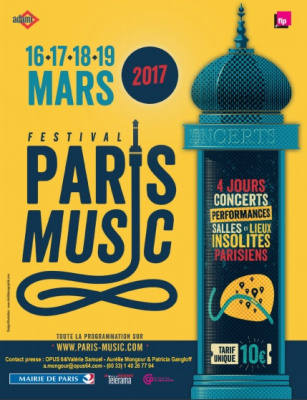 Festival Paris Music 2017 : concerts et performances dans des lieux atypiques