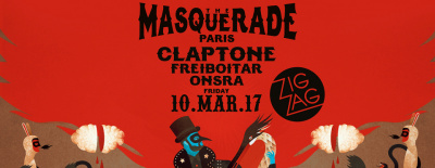 Claptone présente The Masquerade Paris au Zig Zag Club