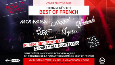 DJ Mag - Best of French au Zig Zag Club