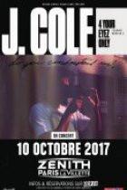 J.Cole en concert au Zénith de Paris en octobre 2017