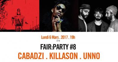 Fair : Party #8 au Café de La Danse