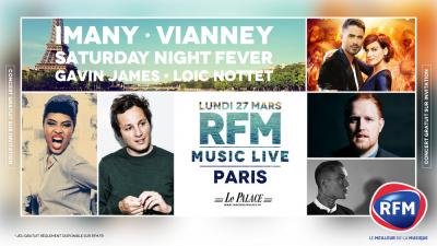 RFM Music Live 2017 au Palace de Paris avec Imany, Vianney, Loïc Nottet