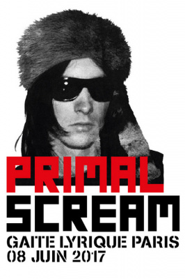 Primal Scream en concert à La Gaîté Lyrique de Paris en juin 2017