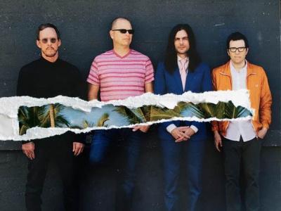 Weezer en concert à l'Olympia en octobre 2017