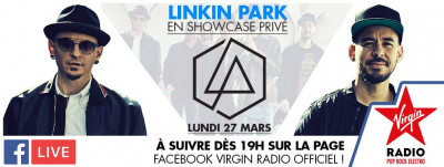 Linkin Park en showcase Virgin Radio au 118