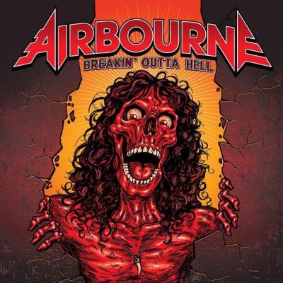 Airbourne en concert à l'Olympia de Paris en octobre 2017
