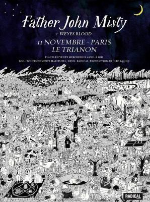 Father John Misty en concert au Trianon de Paris en novembre 2017