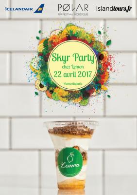 Skyr Party chez Lemon Iceland Paris