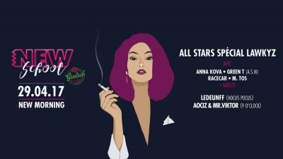Soirée Newschool : All Star Lawkyz au New Morning