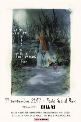 Tori Amos en concert au Grand Rex de Paris en septembre 2017