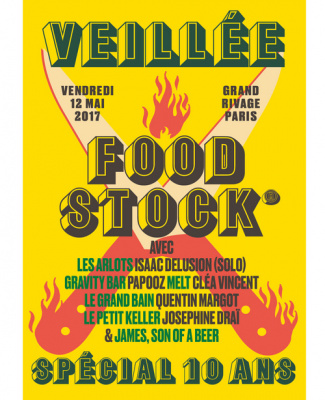 Veillée Foodstock 2017 à Grand Rivage