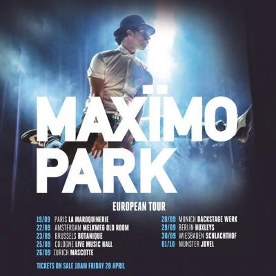 Maxïmo Park en concert à La Maroquinerie