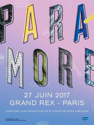 Paramore en concert au Grand Rex de Paris en juin 2017