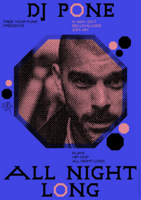 Free Your Funk à La Bellevilloise : DJ Pone All Night Long