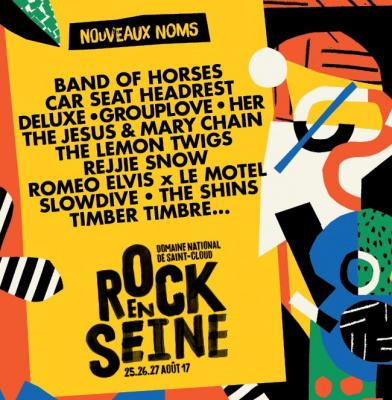 Rock En Seine 2017 : 12 nouveaux noms à l'affiche