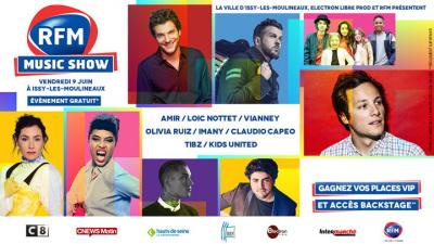 RFM Music Show 2017 à Issy-les-Moulineaux