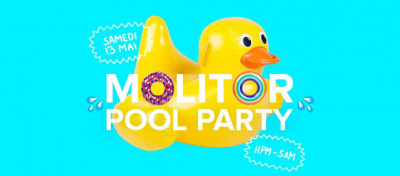 Une Pool-Party à la piscine Molitor