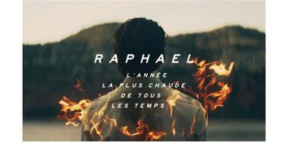 Raphaël en concert au Casino de Paris en octobre 2017