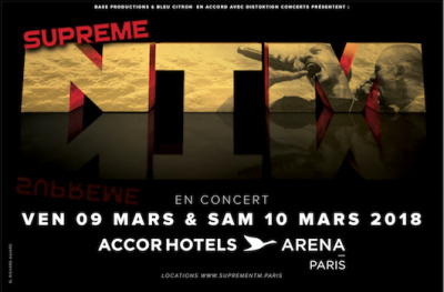 NTM de retour en concert à l'Arena Bercy de Paris en 2018
