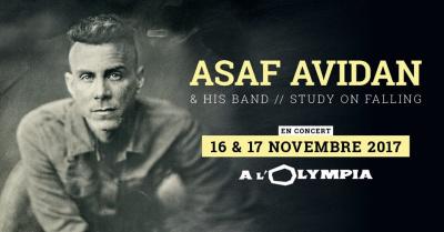 Asaf Avidan en concerts à l'Olympia de Paris en novembre 2017