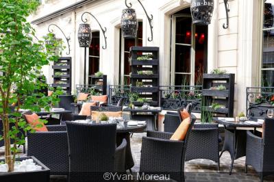 La terrasse estivale du Buddha-Bar Hotel Paris, édition 2017