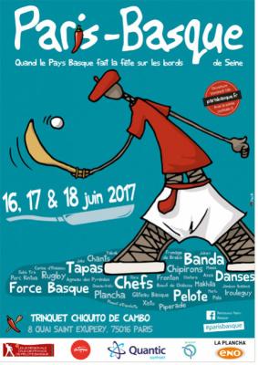 Paris-Basque 2017 au Trinquet Chiquito de Cambo
