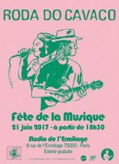 Fête de la Musique 2017 au Studio De l'Ermitage