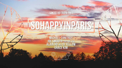 So Happy in Paris feat Michael Canitrot & Joe Smooth à La Clairière