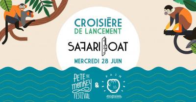 Safari Boat : concerts et dj sets sur La Seine