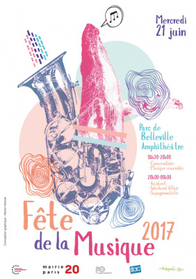 Fête de la Musique 2017 au Parc de Bellevilloise