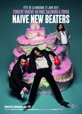 Fête de la Musique 2017 à Clichy avec Naive New Beaters
