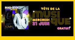 Fête de la musique 2017 à Epinay-sur-Seine avec Imagination