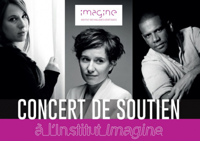 Concert de soutien à l'institut Imagine