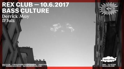 Bass Culture 20th Birthday Part 3 au Rex Club avec Derrick May et D'Julz