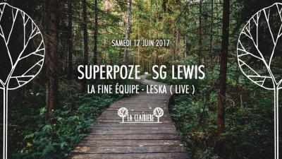 Superpoze à La Clairière