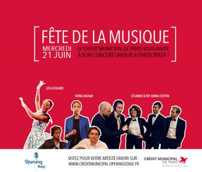 Fête de la Musique 2017 au Crédit Municipal de Paris
