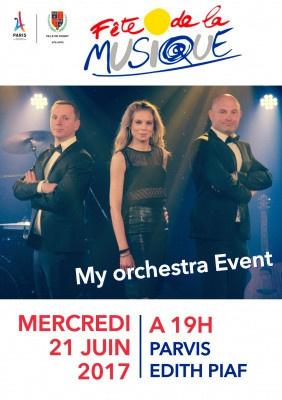 Fête de la Musique 2017 à Dugny avec My Orchestra Event