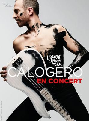 Calogero en concerts à l'Arena Bercy de Paris en juin 2018