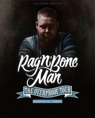 Rag'n'Bone Man en concert au Zénith de Paris en octobre 2017