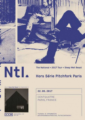 Pitchfork Music Festival Paris 2017 : Hors Série avec The National en concert au Centquatre