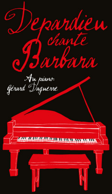 Depardieu chante Barbara au Cirque d'Hiver de Paris en novembre 2017